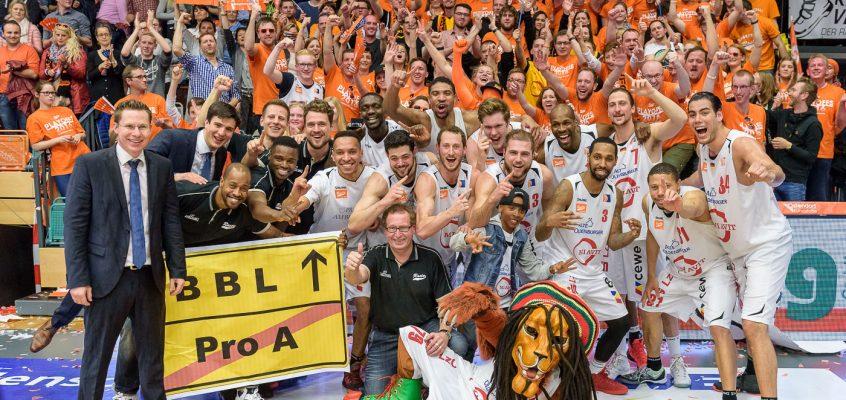 Rasta Vechta stürmt in die 1. Bundesliga