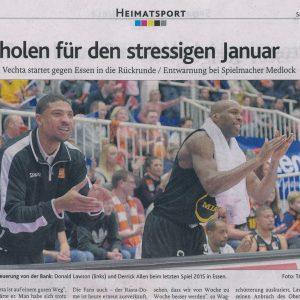 02.01.2016 Oldenburgische Volkszeitung