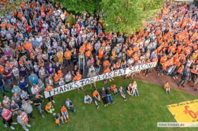 Rasta Vechta feiert den Aufstieg mit 3000 Fans