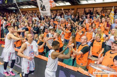 ProA: Rasta Vechta gewinnt gegen Team Ehingen Urspring