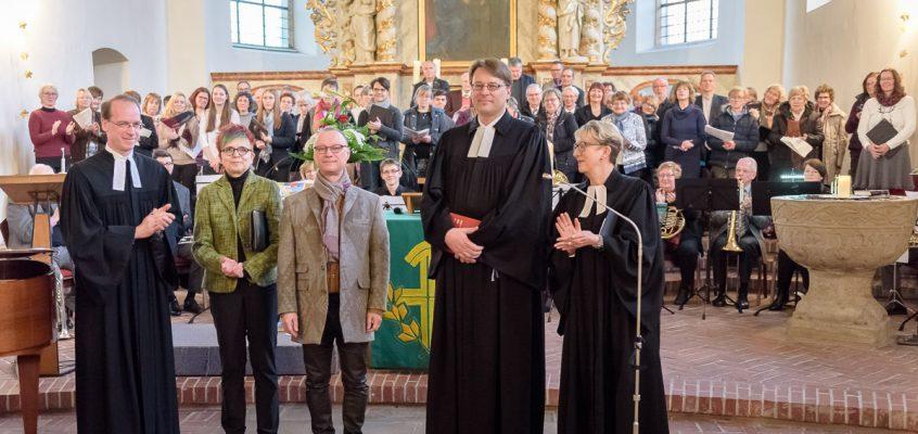 Neuer Kantor Eberhard Jung in sein Amt eingeführt