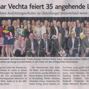 17.06.2016, Oldenburgische Volkszeitung