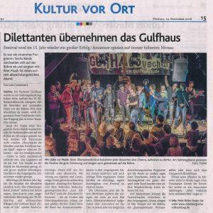 14.11.2016, Oldenburgische Volkszeitung
