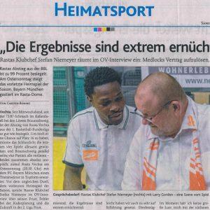 15.04.2017, Oldenburgische Volkszeitung