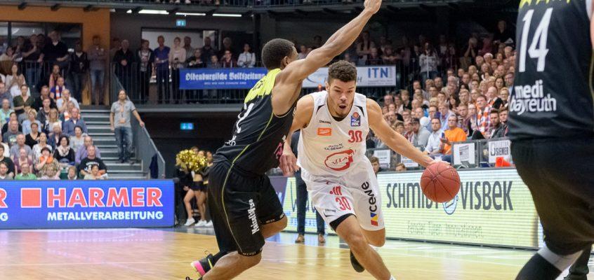 BBL: Rasta Vechta unterliegt medi Bayreuth nach starker erster Halbzeit