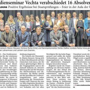 26.01.2018, Nordwest-Zeitung