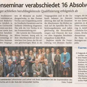 06.02.2018, Oldenburgische Volkszeitung