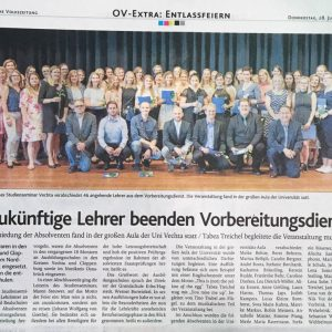 28.06.2018, Oldenburgische Volkszeitung